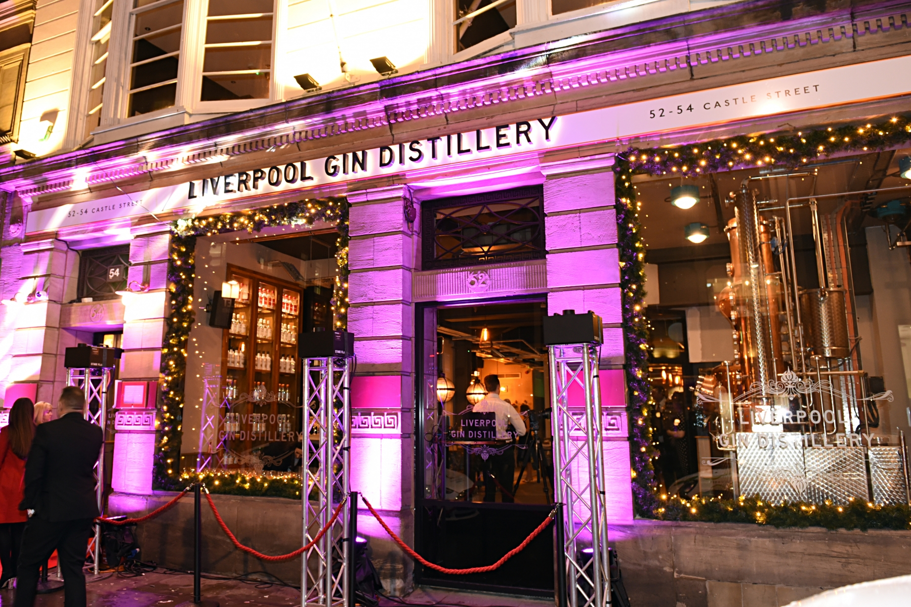 Liverpool Gin Distillery best bars and restaurants liverpool hen party photo of exterior
