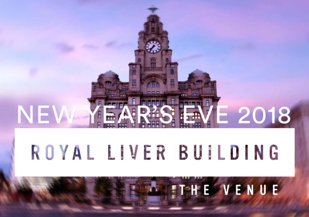 New Years Eve at the Royal Liver Building